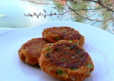 Myrto's Sweet Potato Patties