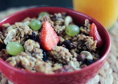 Fruit Crisp – a simple quick dessert