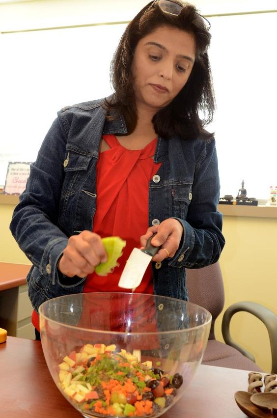 Sprouted Moong Salad Demo