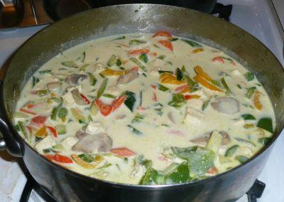 Vegan Green Thai Curry